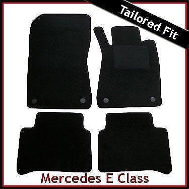 Alfombra a medida Tapetes Para Mercedes Clase E W211 2002-2009 Negro