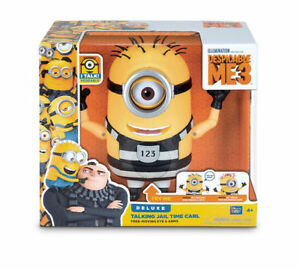 Despicable-Me-3-Minion-Talking-Jail-Time-Carl-Figure-Movie-Toy-7-25-034-Doll-NEW