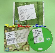 CD HOT SUMMER 2001 TRE compilation PROMO 2001 ALEXIA YES SNAP! (C33***) no mc lp