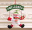 1PC-Santa-Claus-Door-Hanging-Christmas-Tree-Home-Decor-Ornaments-Xmas-Gift miniature 8
