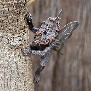 Fairy-Tree-Peeker-Hugger-Garden-Ornament-Tree-Decoration-Novelty-Outdoor-Figure