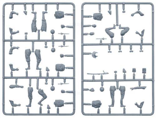 Miniart 35128-1//35 Japanese Tank Crew Plastic Model Kit With Five Figures