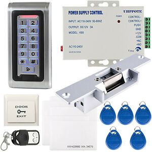 Details about Full Complete Stand-alone Access Control & Wiegand 26 I/O  Waterproof Metal Case