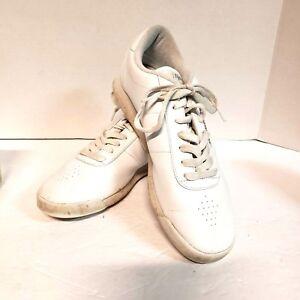 d3d250d3cb8 Vtg Reebok Womens Sz 9.5 Athletic Shoes Princess Classic Sneakers ...