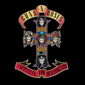 Guns-N-039-Roses-Appetite-for-Destruction-New-Vinyl-180-Gram-Reissue