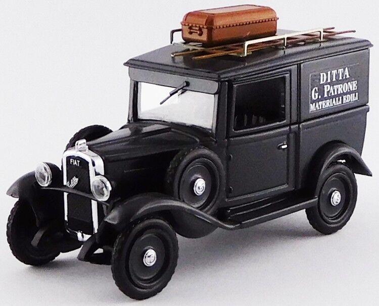 RIO 1 43 AUTO DIE CAST  voiture FIAT BALILLA IMPRESA EDILE 1936 gris SCURO ART 4518  bienvenue pour acheter