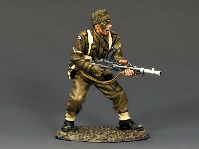 KING AND COUNTRY WW2 Commando Lance Corporal Bren Gunner D Day DD192