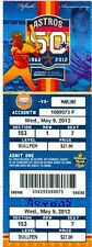 2012 Astros vs Marlins Ticket: Omar Infante's 2-run hit in 12th lifts Marlins