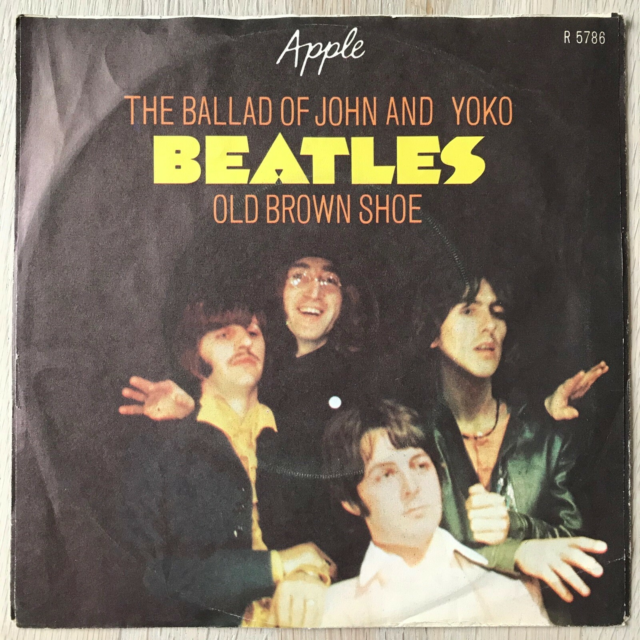 Single, The Beatles, The Ballad Of John And Yoko/Old Brown…