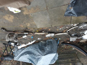 2014 Audi S4 exhaust system..