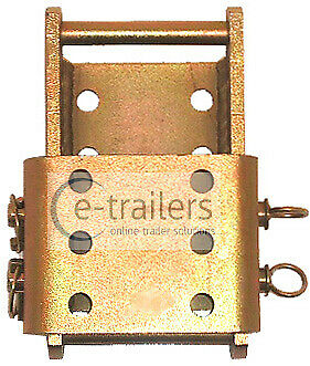Towbar Trailer 3.5 Ton Adjustable Height Coupling suitable for Landrover
