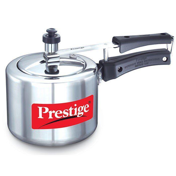 Prestige Nakshatra Pressure Cooker 2 Liter StoveTop Gastop Cooker