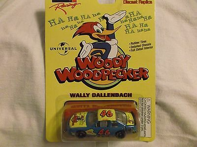 New 1997 Revell 1:64 Diecast NASCAR Wally Dallenbach Woody Woodpecker Chevy #46