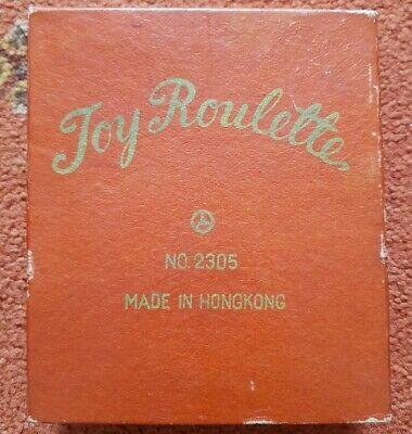 Capace Vintage Hong Kong Giocattolo Roulette No.2305 Mercedes-mostra Il Titolo Originale Aspetto Attraente