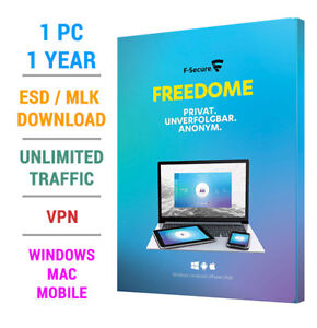 F-Secure-Freedome-VPN-2019-1-PC-Geraet-1-JAHR-WIN-MAC-Android