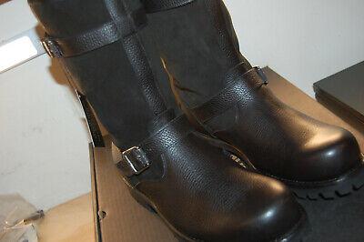 NIB Frye Mens Wyoming Engineer Snow Boot Black 9.5 M $498 Leather waterproof
