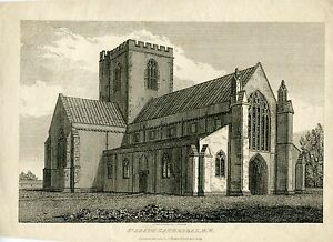 Gales-St-Asaph-Cathedral-Engraving-By-J-C-Buckler-1820