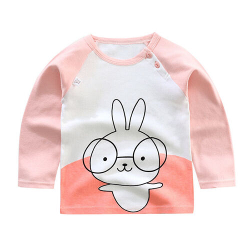 Children Boys Crew Neck T Shirt Tops Printed Long Sleeve Pullover Autumn Sweater
