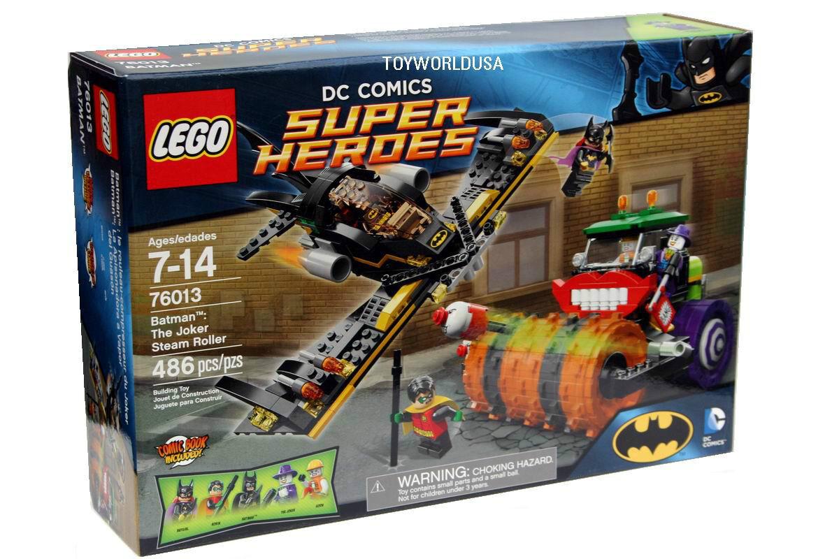 a buon mercato Lego SUPER HEROES  76013 76013 76013 Batuomo  The Joker Ssquadra Roller costruzione giocattolo Set  protezione post-vendita