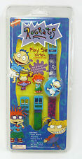 1998 RUGRATS WATCH RARE PLAY SET MIX MATCH 3-D CHARACTERS & STRAPS NICKELODEON!!