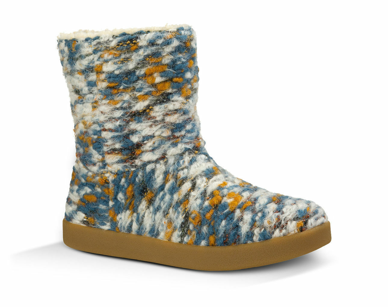 SANUK - 1016022 - DUSTY TEAL SPECKLE - Women's Short Boots - Multi-color -Size 5