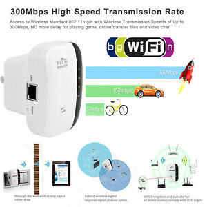 300Mbps NEW Wireless WiFi Super Booster Range Extender Superboost Boost Speed
