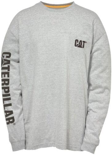 à longues manches logo à shirt Cat homme résistant à T logo Caterpillar pour très wqzC08
