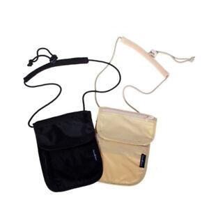 Neck-Bags-Strap-Bag-Hidden-Passport-Case-Wallet-Money-Holder-Security