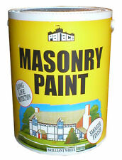 Palace Smooth Masonry Paint 5ltr White