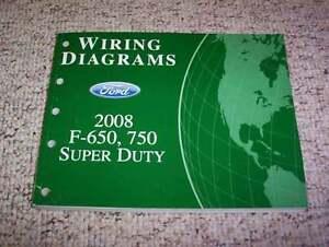 2008 ford f650 electrical wiring diagram manual 6 7l 7 2l diesel image is loading 2008 ford f650 electrical wiring diagram manual 6