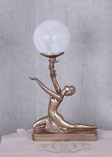 LAMPE DE TABLE FIGURE FÉMININE ART DÉCO LAMPE FEMME FATALE LAMPE DE TABLE