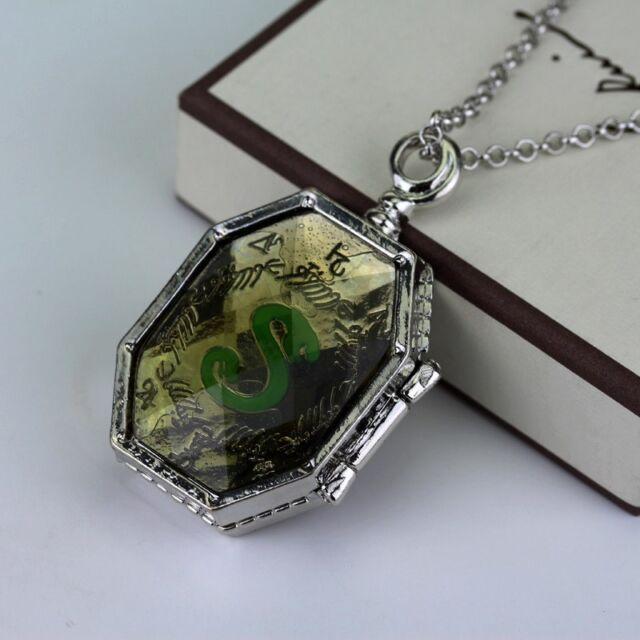 Harry Potter Salazar Slytherin Horcrux Locket Necklace