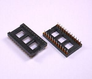 10-un-IC-Chip-Zocalo-Adaptador-24-Pin-Dip-Eprom-DIP24