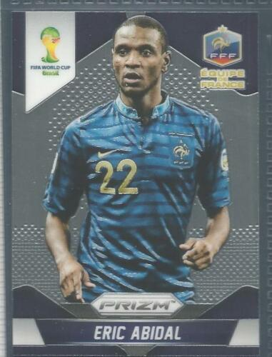 PANINI PRIZM 2014 WORLD CUP #076-FRANCE-ERIC ABIDAL