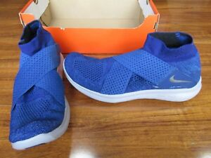 e3b065ae5699 New Nike Free RN Motion Flyknit 2017 Shoes MENS 11 Blue Black 880845 ...