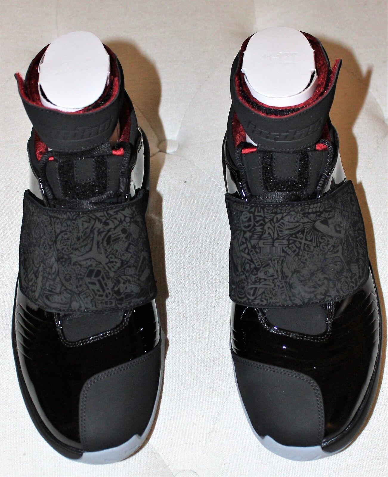 Air Jordan Xx 20 Og black Stealth red Estilo  310455001 Bred Tgolds '05 size
