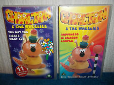 CHORLTON & THE WHEELIES  x 2 VHS PAL (UK) VIDEOS - 16 EPISODES - VINTAGE 70'S TV