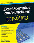Excel Formulas and Functions For Dummies by Peter G. Aitken, Ken Bluttman (Paperback, 2010)