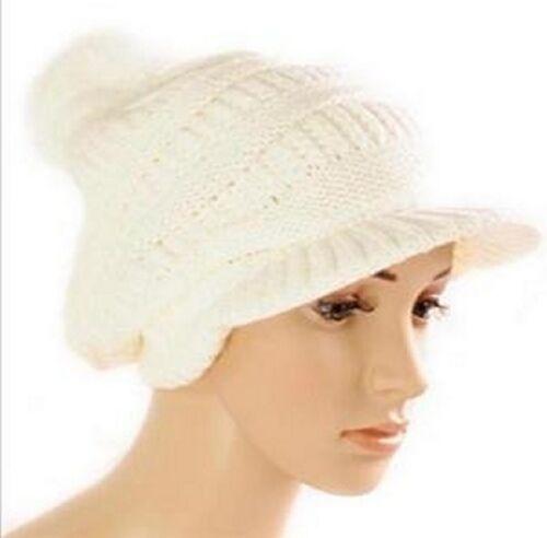 Nouveau hiver tricot Casquette Long Beanie Chapeau Casquette