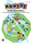 Hooray for Singing! (Part-Singing Adventures for Upper Elementary and Middle School): Teacher's Book by Robert de Frece (Paperback / softback, 2000)