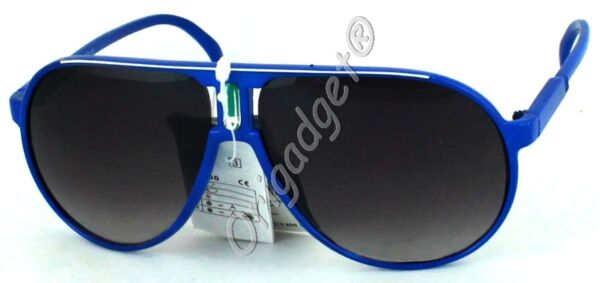 1299 Occhiali Da Sole Sunglasses Lenti Uv 400 Blu