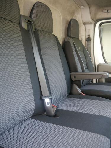 Sitzbezüge Schonbezüge Fiat Ducato III Fahrersitz und Bank