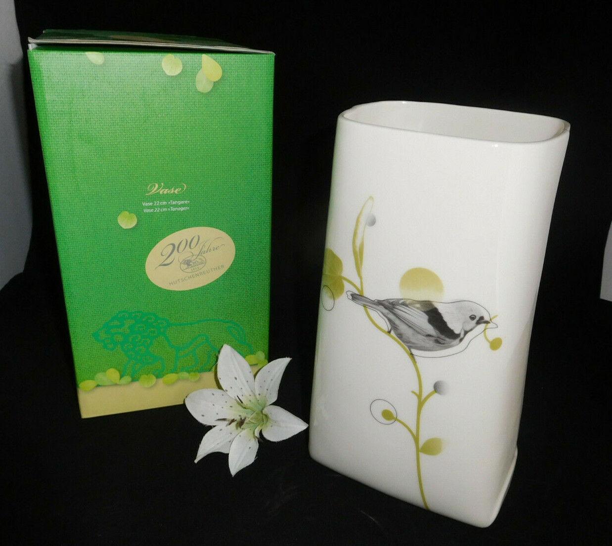 Hutschenreuther Grün Garden     Tangare    Vase 22 cm Neu & Ovp | Große Klassifizierung  6607fe