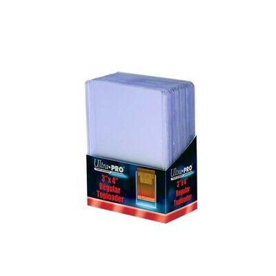 Ultra PRO TopLoader Clear X100 - Yu-Gi-Oh//Magic Protège Carte Rigide