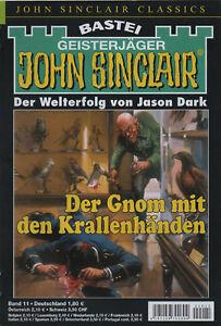 JOHN-SINCLAIR-CLASSICS-Nr-11-Der-Gnom-mit-den-Krallenhaenden-Jason-Dark