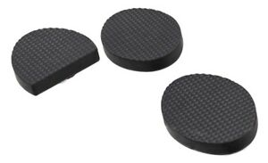 1945 RUBBER FOOT PEDAL PADS for Clutch & Brake on Harley Knuckle UL Pan 45 Servi
