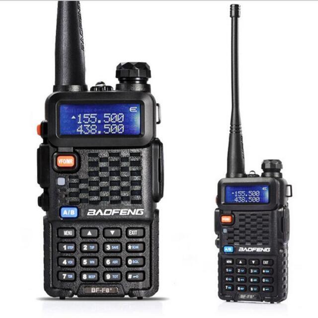 Original BAOFENG BF-F8+ VHF/UHF Dual Band Two Way Radio Walkie Talkie