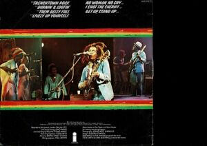 Bob-Marley-amp-The-Wailers-Live-VINYL-LP-With-rare-transfer-USED-Aussie-press