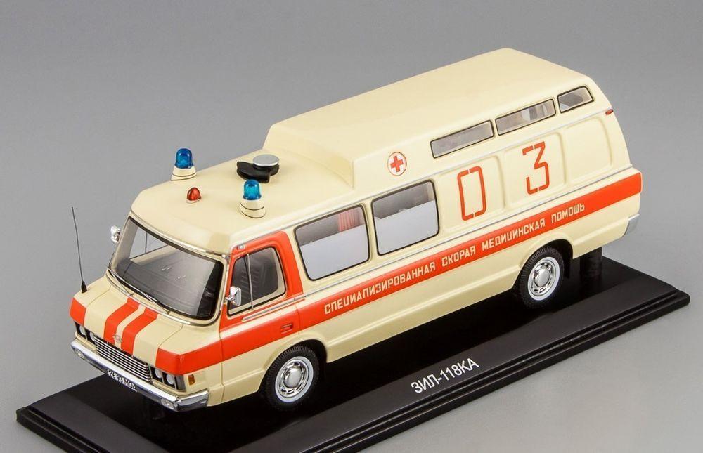 ZIL-118KA Soviet ambulance USSR 111904 DIP Models 1 43 New in a box  Original