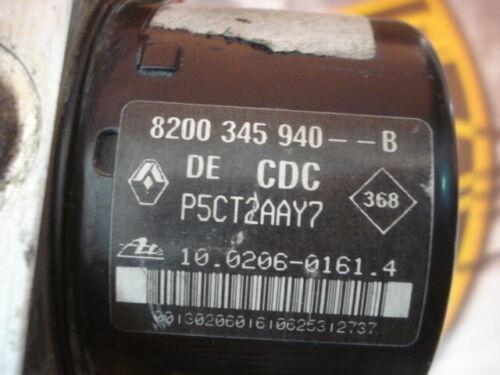 ABS Renault Laguna II 8200345940B 10020601614 10096014423 00009361D0 8200345940